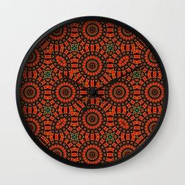 Royal Mandala Wall Clock