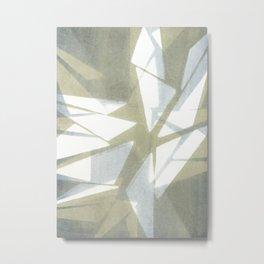 Shattered Metal Print