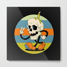 Skull Boy Metal Print