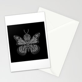 black mothman prophecy ecopop Stationery Cards