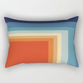 Retro Square Rectangular Pillow