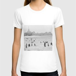 1895 Narragansett Pier and Beach, Narragansett, Rhode Island T-shirt