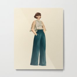 Buttercup in Modern Filipiniana  Metal Print