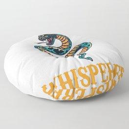 Snake Whisperer Floor Pillow