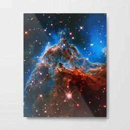 Monkey Head Nebula Metal Print