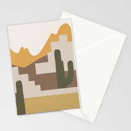 Abstract Landscape #4 Stationery Cards