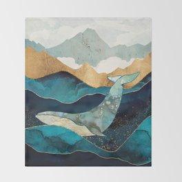 Blue Whale Decke