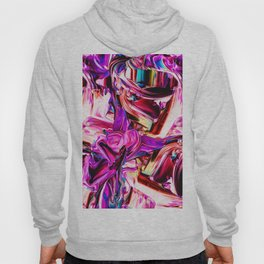 Colorful Abstract Liquid Paint IV Hoody