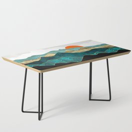 Turquoise Vista Coffee Table