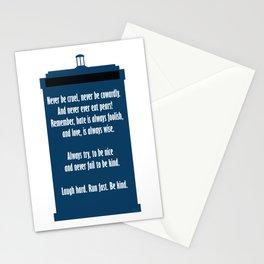 Twelve's Last Words Stationery Cards
