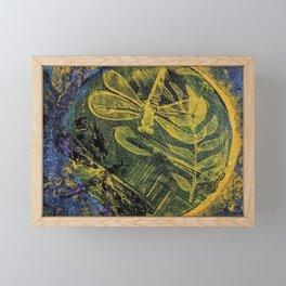 Dragonfly Dance #4 Framed Mini Art Print