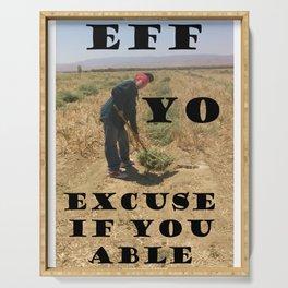 E.Y.E. Serving Tray