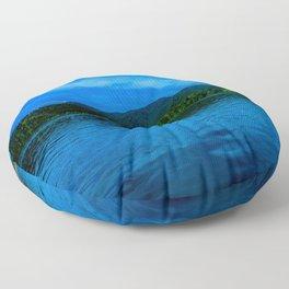 Bavaria Lake Schliersee Floor Pillow