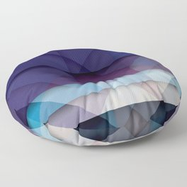 Scottish Geo Tartan Floor Pillow