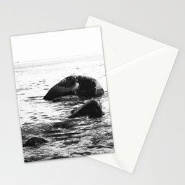 Stones at the sea Stationery Cards