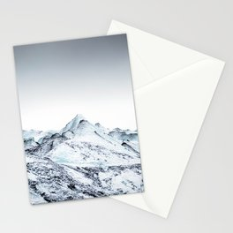 Minimal Glacier Stationery Cards