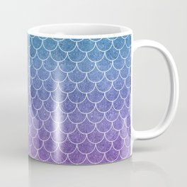Mermaid Scales in Cotton Candy Coffee Mug