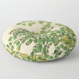 Maidenhair Ferns Floor Pillow