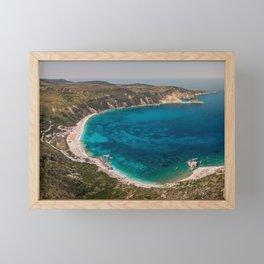 Petani beach - Kefalonia,Greece Framed Mini Art Print