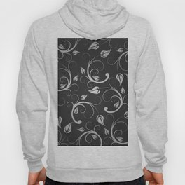 Floral Abstract Vine Art Print Design Hoody