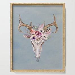 Deer Skull 2 Serving Tray