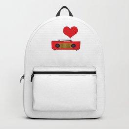 I Love Hiphop Hip Hop Hipster Backpack