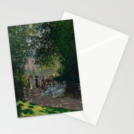 """Claude Monet """"The Parc Monceau"""" Stationery Cards"""
