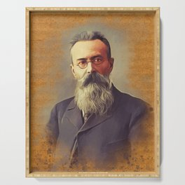 Nikolay Rimsky Korsakov, Music Legend Serving Tray
