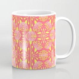 Mimosa Flowers Tiled Coffee Mug