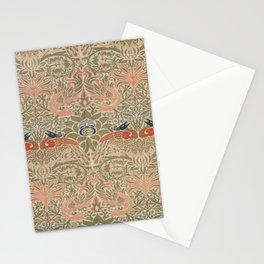 William Morris Peacock and Dragon 1878 Stationery Cards