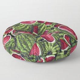 Watermelon Pattern Design Floor Pillow