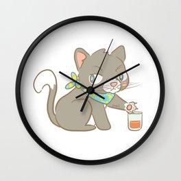 Clink Clank Wall Clock