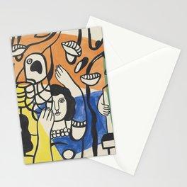 Fernand Leger Les Femmes au Perroquet Stationery Cards
