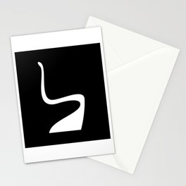 Panton Chair Illustration Stationery Cards