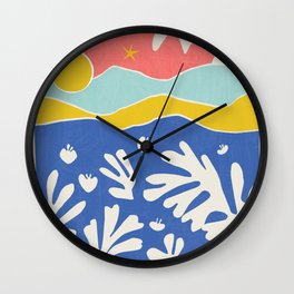 Matisse Collages Art Wall Clock