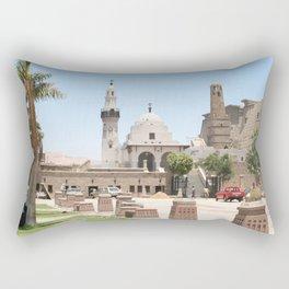 Temple of Luxor, no. 15 Rectangular Pillow