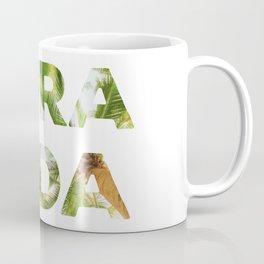 Pura Vida Costa Rica Palm Trees Coffee Mug