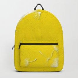 Freesia Yellow Dandelion Backpack