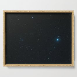 """Hubble Space Telescope - Hubble captures a """"five-star"""" rated gravitational lens (2006) Serving Tray"""