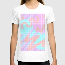 Fuzz Fly By 80s Background T-shirt