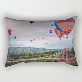 Bristol Balloon Fiesta Rectangular Pillow