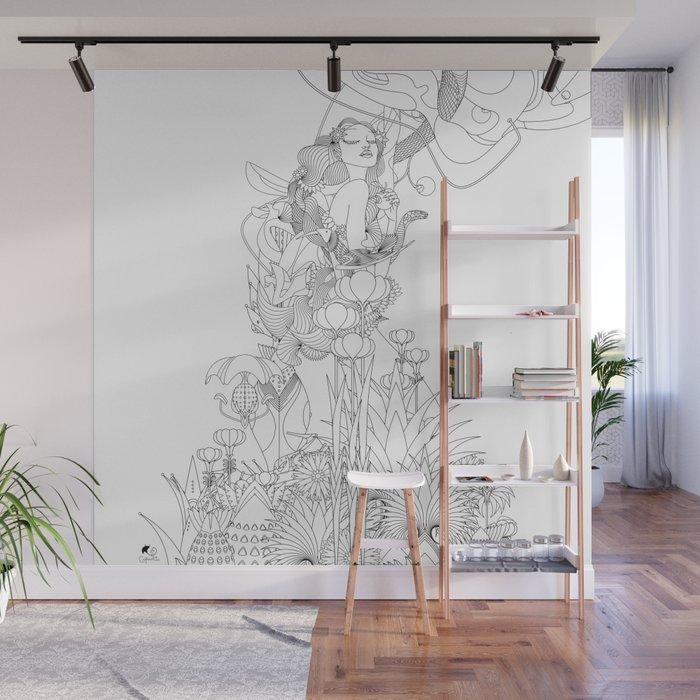 Edena Wall Mural