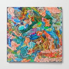 Sea of Mermaids Metal Print