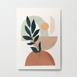 Soft Shapes IV Metal Print