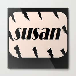 Susan Metal Print