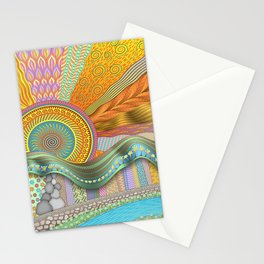 Sunrise In Finger Tree Forest Stationery Cards