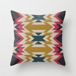 Bohemian Style Geometric Pattern Throw Pillow