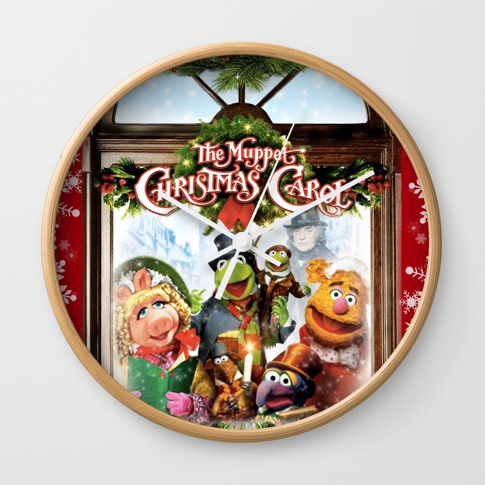 The Muppet Christmas Carol Wall Clock by Emdavis27 CLK7821293