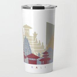 Bali skyline poster Travel Mug