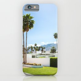 put the palm in palm springs iPhone Case